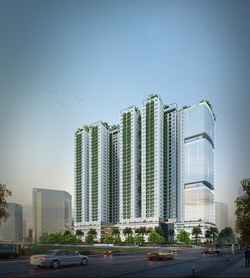 Modern Apartment & Office Complex – Ecolife Captial – 58 To Huu, Ha Noi